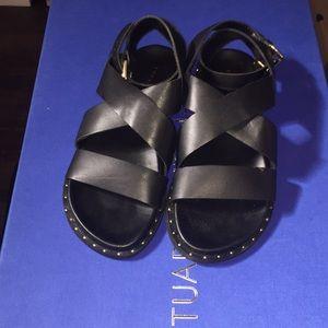 NWT Topshop Black Sandal